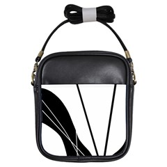 White and Black  Girls Sling Bags