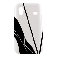 White and Black  Samsung Galaxy Ace S5830 Hardshell Case
