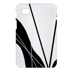 White and Black  Samsung Galaxy Tab 7  P1000 Hardshell Case