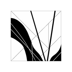 White and Black  Acrylic Tangram Puzzle (4  x 4 )