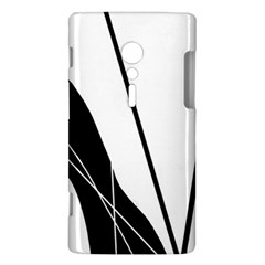 White and Black  Sony Xperia ion
