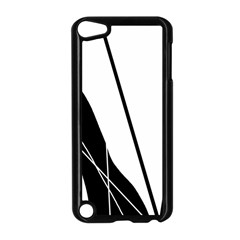 White and Black  Apple iPod Touch 5 Case (Black)