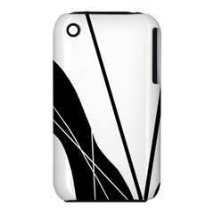 White and Black  Apple iPhone 3G/3GS Hardshell Case (PC+Silicone)
