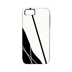 White and Black  Apple iPhone 5 Classic Hardshell Case (PC+Silicone)