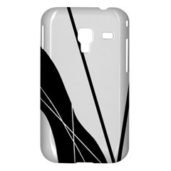 White and Black  Samsung Galaxy Ace Plus S7500 Hardshell Case