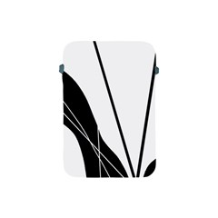 White and Black  Apple iPad Mini Protective Soft Cases