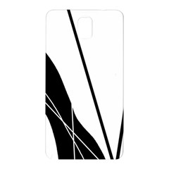 White and Black  Samsung Galaxy Note 3 N9005 Hardshell Back Case
