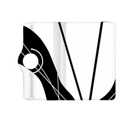 White and Black  Kindle Fire HDX 8.9  Flip 360 Case