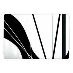 White and Black  Samsung Galaxy Tab Pro 10.1  Flip Case