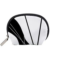 White and Black  Accessory Pouches (Small)