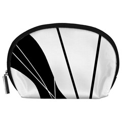 White and Black  Accessory Pouches (Large)
