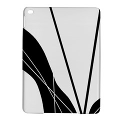White and Black  iPad Air 2 Hardshell Cases