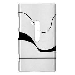 Waves - black and white Nokia Lumia 920