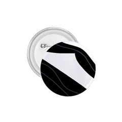 White and black decorative design 1.75  Buttons