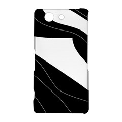White and black decorative design Sony Xperia Z3 Compact
