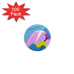 Under the sea 1  Mini Magnets (100 pack)