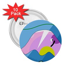Under the sea 2.25  Buttons (10 pack)