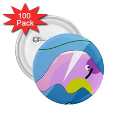 Under the sea 2.25  Buttons (100 pack)