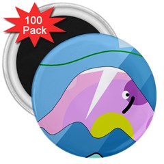 Under the sea 3  Magnets (100 pack)