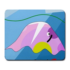 Under the sea Large Mousepads