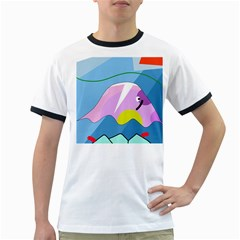 Under the sea Ringer T-Shirts