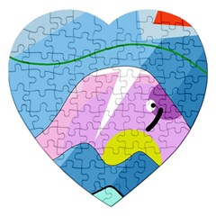 Under the sea Jigsaw Puzzle (Heart)