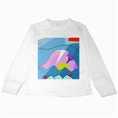 Under the sea Kids Long Sleeve T-Shirts