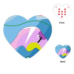 Under The Sea Playing Cards (heart)