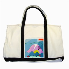 Under the sea Two Tone Tote Bag