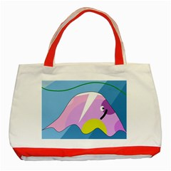 Under the sea Classic Tote Bag (Red)