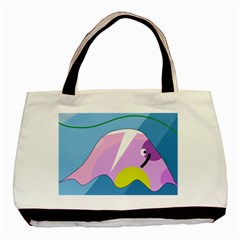 Under the sea Basic Tote Bag (Two Sides)