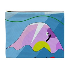 Under the sea Cosmetic Bag (XL)