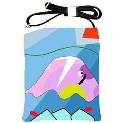 Under the sea Shoulder Sling Bags