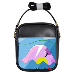 Under the sea Girls Sling Bags