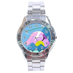 Under the sea Stainless Steel Analogue Watch