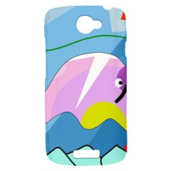 Under the sea HTC One S Hardshell Case