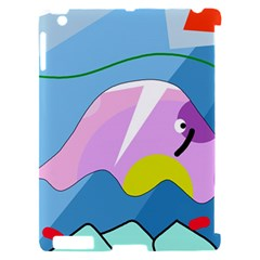 Under the sea Apple iPad 2 Hardshell Case (Compatible with Smart Cover)