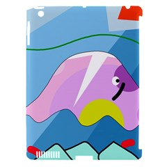 Under the sea Apple iPad 3/4 Hardshell Case (Compatible with Smart Cover)