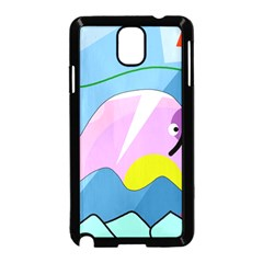 Under the sea Samsung Galaxy Note 3 Neo Hardshell Case (Black)