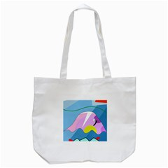 Under the sea Tote Bag (White)