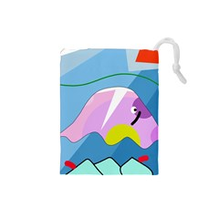 Under the sea Drawstring Pouches (Small)