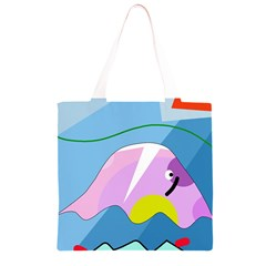 Under the sea Grocery Light Tote Bag