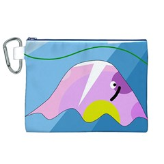 Under the sea Canvas Cosmetic Bag (XL)