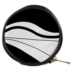 White and black harmony Mini Makeup Bags