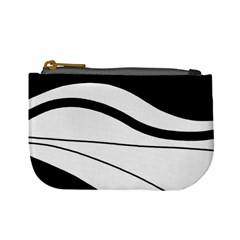 White and black harmony Mini Coin Purses