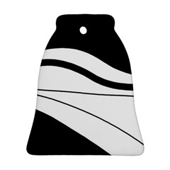White and black harmony Ornament (Bell)