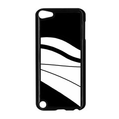 White and black harmony Apple iPod Touch 5 Case (Black)