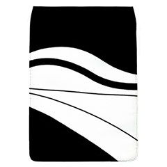 White and black harmony Flap Covers (L)