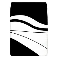 White and black harmony Flap Covers (S)