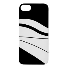 White and black harmony Apple iPhone 5S/ SE Hardshell Case